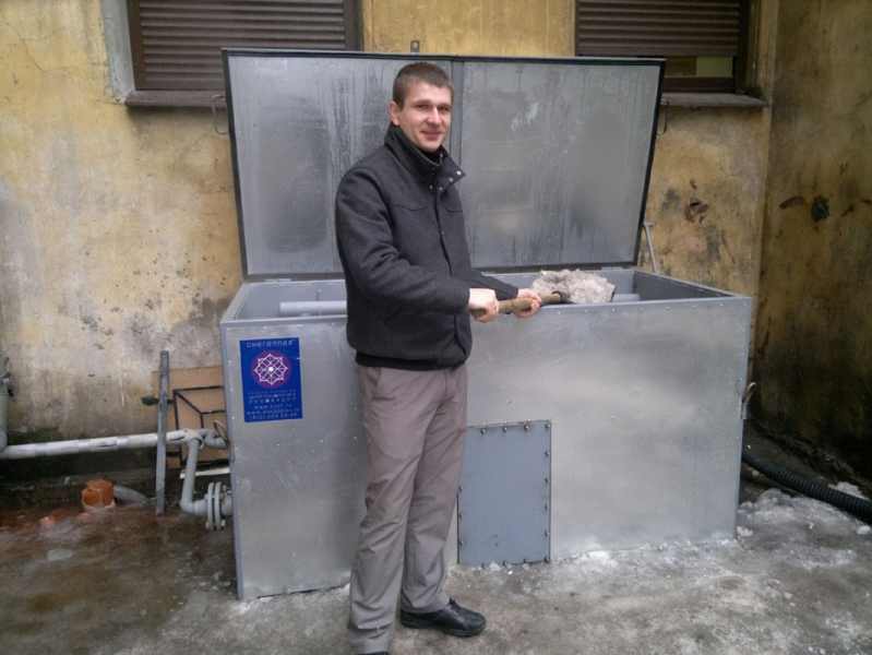 Как сделать мини снегоплавильную машину для дома своими руками